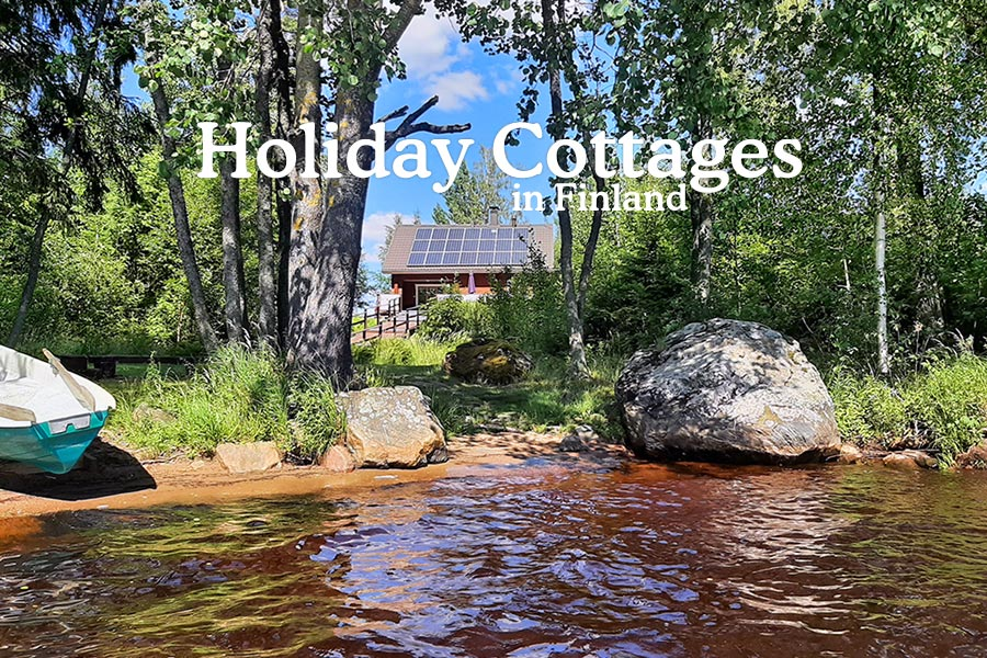 Holidays gottages in Finlad to rent...